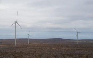 Windenergieanlage in Caithness (Schottland). (Credits: Sebastian Dunnett, University of Southampton)