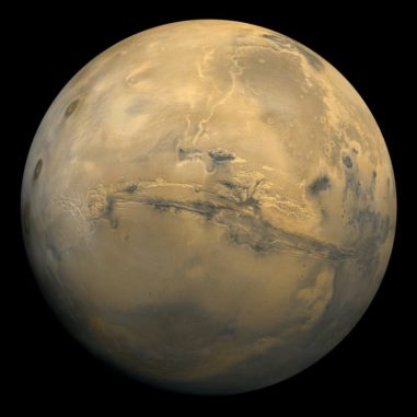 Der Mars. (Credits: NASA)