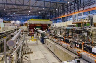 Das NA64-Experiment. (Credit: CERN)