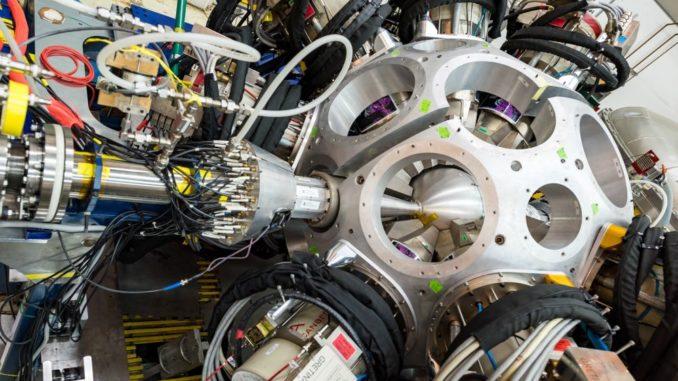 Das GRETINA-Experiment am Argonne Tandem Linac Accelerator System (ATLAS). (Credits: Image by Argonne National Laboratory)