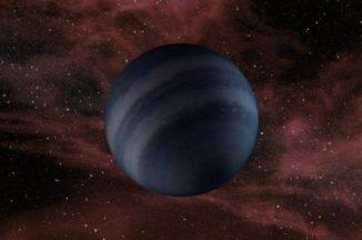 Illustration eines Braunen Zwergs, dessen Aussehen jenem von Schwarzen Zwergen ähneln könnte. (Credits: NASA / JPL-Caltech)