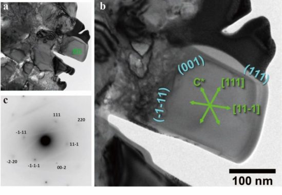 Mikrodiamantenkristalle unter dem Mikroskop. (Credits: Professor Tadao Nishiyama / CC BY 4.0)