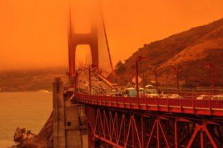 Auswirkungen der Waldbrände in Kalifornien. (Credits: McGill University)