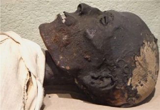 Diese im Jahr 1837 von einem französischen Museum erworbene Mumie war ein Gegenstand der aktuellen Untersuchung. (Credits: Frédérique Vincent, ethnographic conservator)