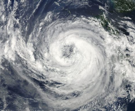 Der Taifun Talas im Jahr 2011. (Credits: NASA)