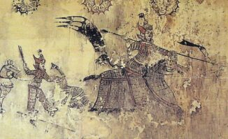 Goguryeo Armor Mural (Life time: 37 BCE – 668 CE). (Credits: Public Domain)