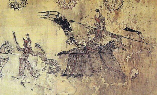 Goguryeo Armor Mural (Life time: 37 BCE – 668 CE). (Credits: Public Domain)