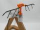 Ein Flügelschlagmechanismus aus einem 3D-Drucker. (Credits: University of South Australia / Blake McIvor)