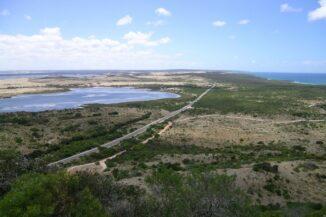 Blick über den östlichen Teil von Kangaroo Island. (Credits: Wikipedia / User: Roo72 / CC-BY-SA 2.0)