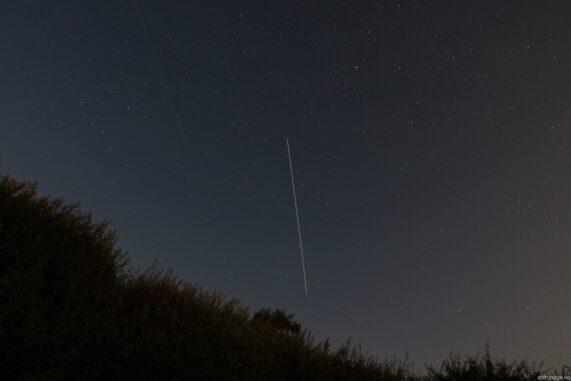 Überflug der Internationalen Raumstation ISS. (Credits: astropage.eu)