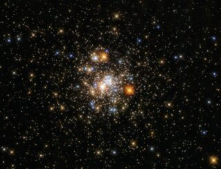 Hubble-Aufnahme des Kugelsternhaufens NGC 6717. (Credit: ESA / Hubble and NASA, A. Sarajedini)