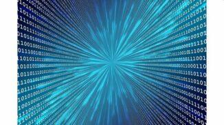 Künstlerische Darstellung eines digitalen Universums. (Credits: Pixabay)